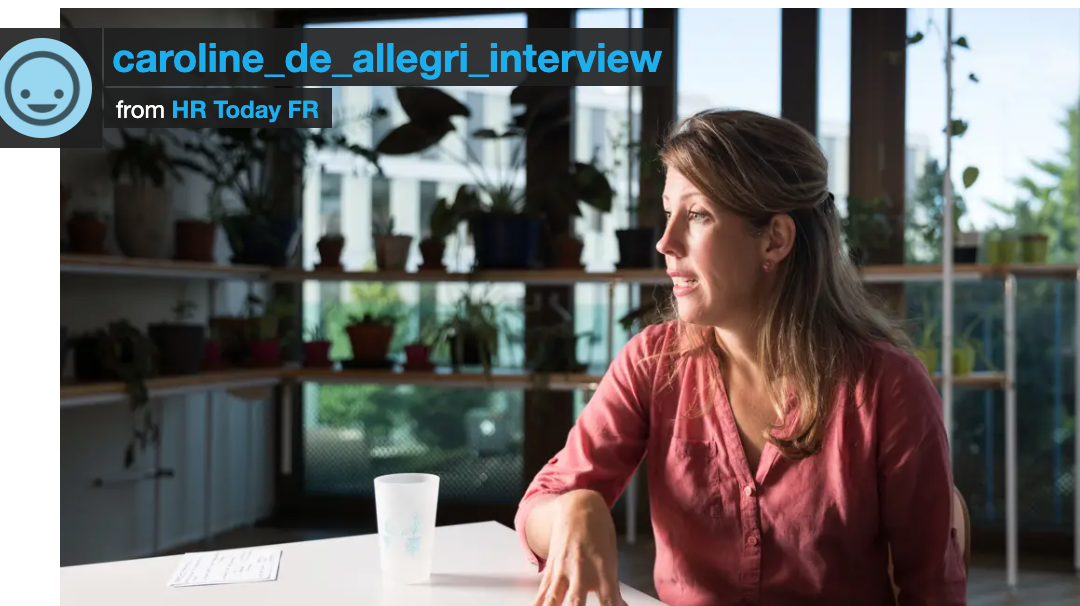 [PRESS REVIEW] HR Today – Interview de Caroline De Allegri